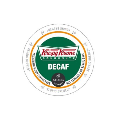 Keurig® K-Cup® Pack 18-Count Krispy Kreme Doughnuts® Decaf Medium Roast Coffee