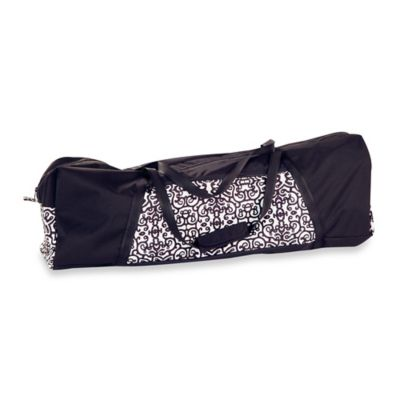 Black White Travel Bag