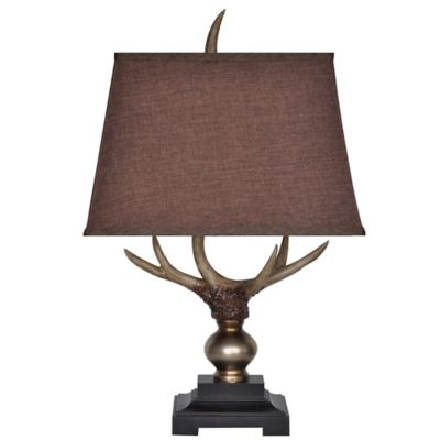 Crestview Collection Monarch Antler Table Lamp