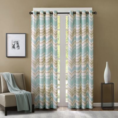 Eton 63-Inch Window Curtain Panel in Yellow