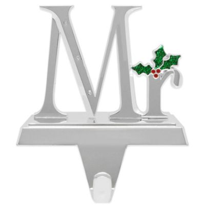 Harvey Lewis™ Mr. Stocking Hanger Made with Swarovski® Elements