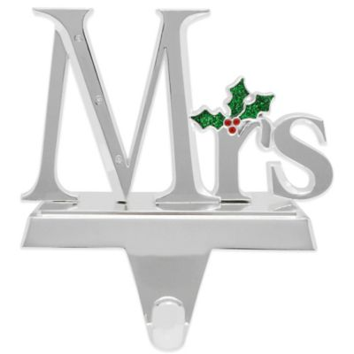 Harvey Lewis™ Mrs. Stocking Hanger Made with Swarovski® Elements