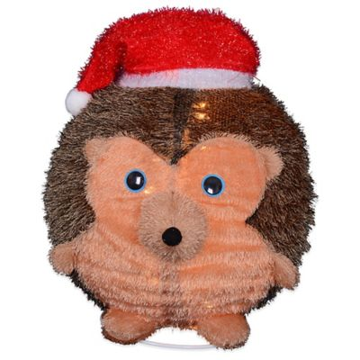Jolly Wobble® 20-Inch Collapsible Pre-Lit Hedgehog