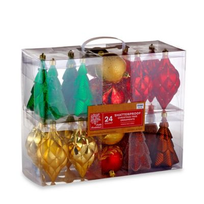 Shatterproof Christmas Ornaments
