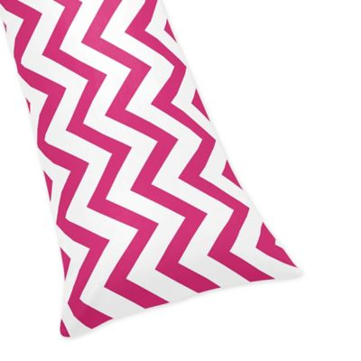 Sweet Jojo Designs Chevron Body Pillowcase Nursing