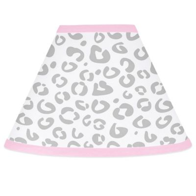 Sweet Jojo Designs Kenya Lamp Shade in Pink and Grey