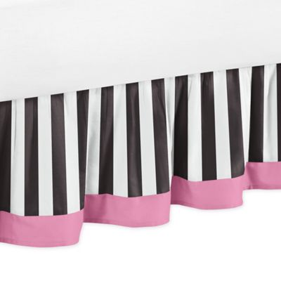 Sweet Jojo Designs Paris Queen Bed Skirt