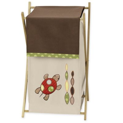 Sweet Jojo Designs Turtle Hamper in Multi
