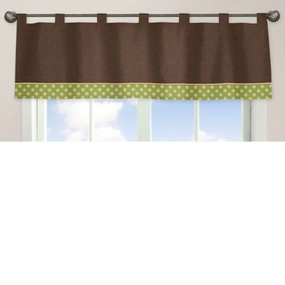 Sweet Jojo Designs Turtle Window Valance in Multi