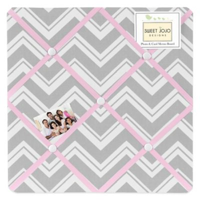 Pink and Grey Fabric