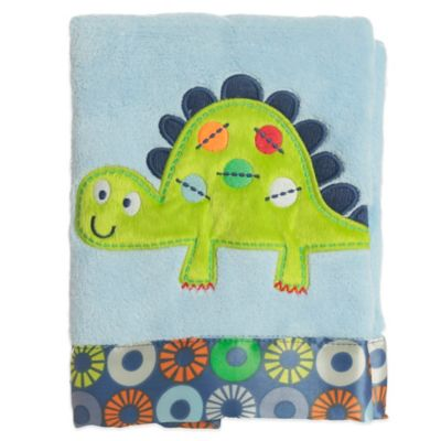 Bananafish® Little Dino Crib Blanket