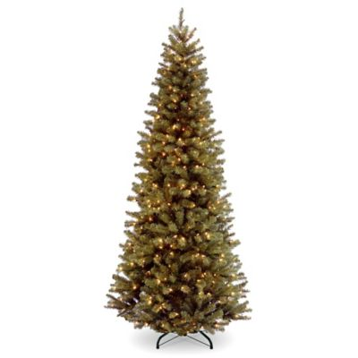 National Tree 7.5-Foot North Valley Slim Christmas Spruce