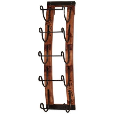 5-Bottle Hanging Wine Rack