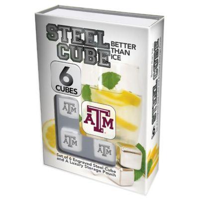 Texas A&M University Steel Cubes (Set of 6)