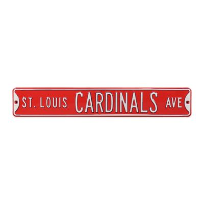 MLB St. Louis Cardinals Steel Street Sign