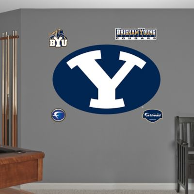 Fathead® Brigham Young University Logo Wall Graphic
