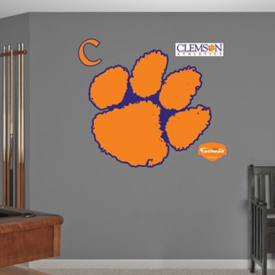 Fathead® Clemson University Logo Wall Graphic