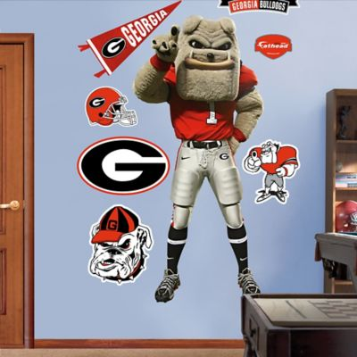 Fathead® University of Georgia Hairy Dawg Mascot Wall Graphic