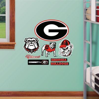 Fathead® University of Georgia Logo Sheet Junior Wall Graphic
