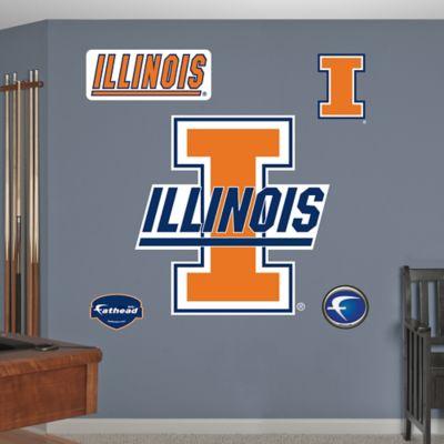Fathead® University of Illinois Logo Wall Graphic