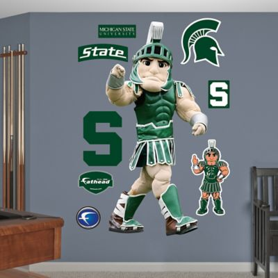 Fathead® Michigan State University Sparty Mascot Wall Graphic