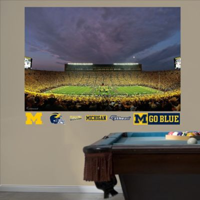 Fathead® University of Michigan 2011 Night Game Mural Wall Graphic