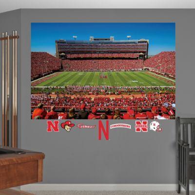 Fathead® University of Nebraska Stadium Mural Wall Graphic