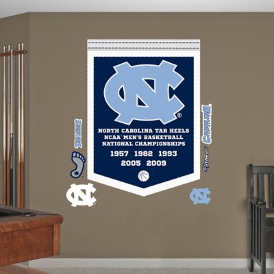 Fathead® University of North Carolina National Champions Banner Wall Graphic