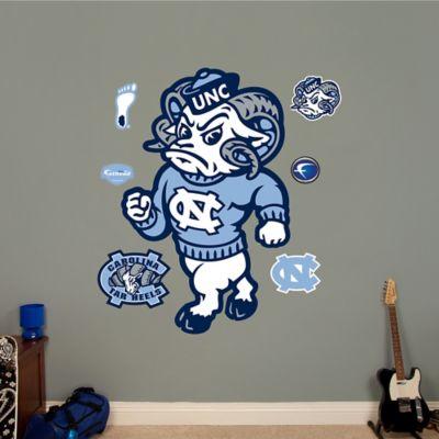 Fathead® University of North Carolina Rameses Mascot Wall Graphic