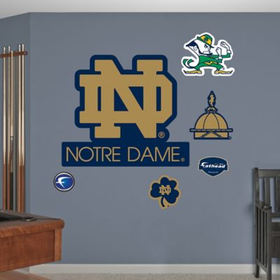 Fathead® University of Notre Dame Logo Wall Graphic