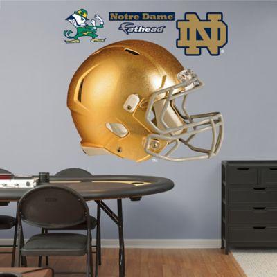 Fathead® University of Notre Dame Golden Helmet Wall Graphic