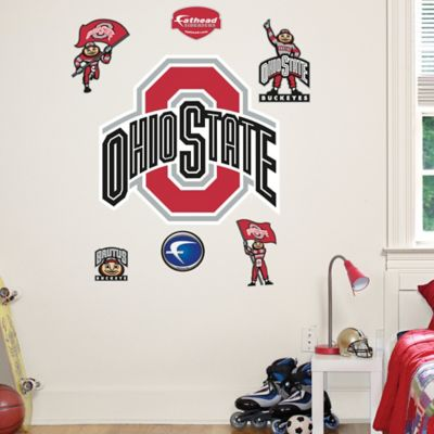 Fathead® Ohio State University Logo Sheet Junior Wall Graphic