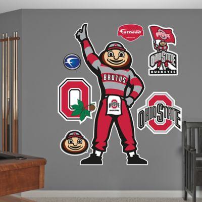 Fathead® Ohio State University Brutus Buckeye Classic Mascot Wall Graphic