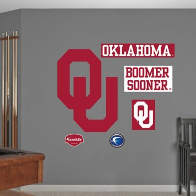 Fathead® University of Oklahoma Logo Wall Graphic