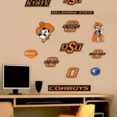 Fathead® Oklahoma State University Cowboys Assortment Logo Wall Graphic