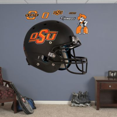 Fathead® Oklahoma State University Black Helmet Wall Graphic