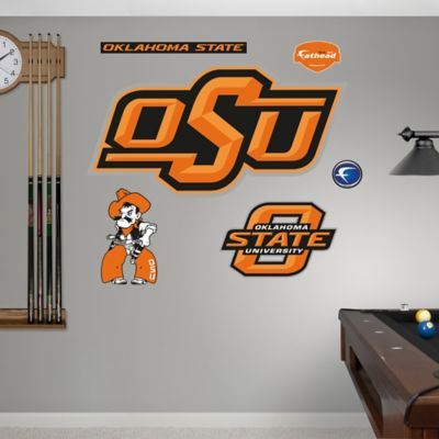Oklahoma State University Logo Wall Graphic
