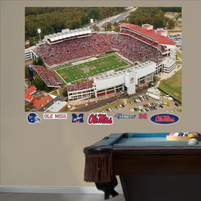 Fathead® University of Mississippi Stadium Mural Wall Graphic