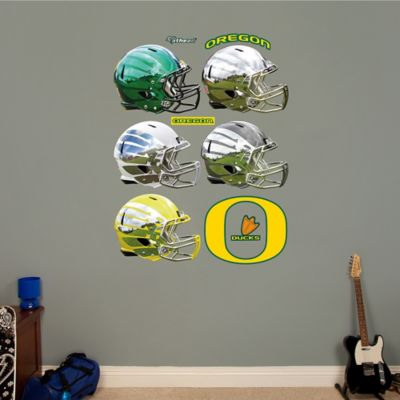 Fathead® University of Oregon Helmet Collection Wall Graphic
