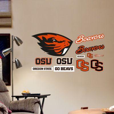 Fathead® Oregon State University Logo Sheet Junior Wall Graphic