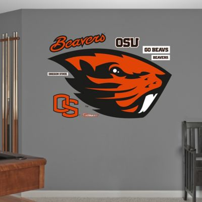 Oregon State University Logo Wall Graphic