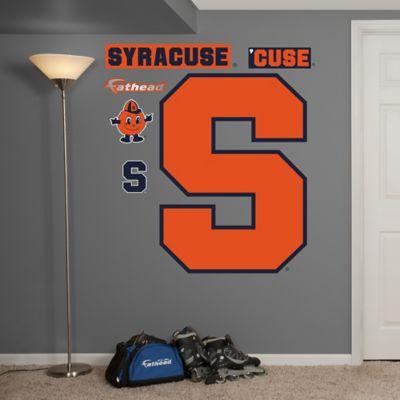 Fathead® Syracuse University Orange Logo Wall Graphic