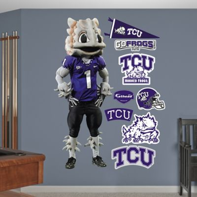 Fathead® TCU Super Frog Mascot Wall Graphic