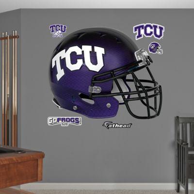 Fathead® Texas Christian University Helmet Wall Graphic