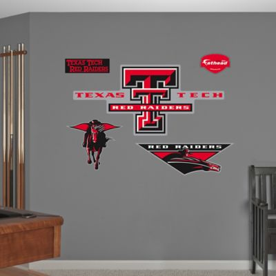 Fathead® Texas Tech University Logo Wall Graphic