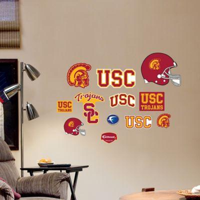 Fathead® USC Trojans Assortment Logo Wall Graphic