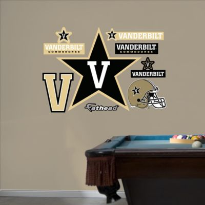 Fathead® Vanderbilt University Logo Wall Graphic