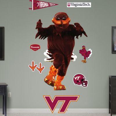 Fathead® Virginia Tech Hokie Bird Mascot Wall Graphic