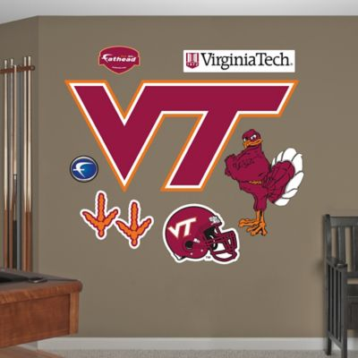 Fathead® Virginia Tech Logo Wall Graphic