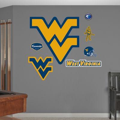 Fathead® West Virginia University Logo Wall Graphic